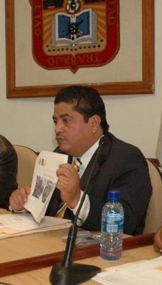 No toleraré la corrupción en la policía reiteró el presidente municipal Gutiérrez Cureño