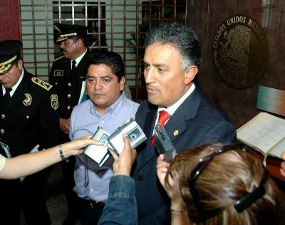 Gutiérrez Cureño hace las paces con la Agencia de Seguridad Estatal; pacta frente común contra el narcomenudeo y robo de vehículos
