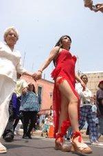 Marcha lésbico-gay en contra de la homofobia