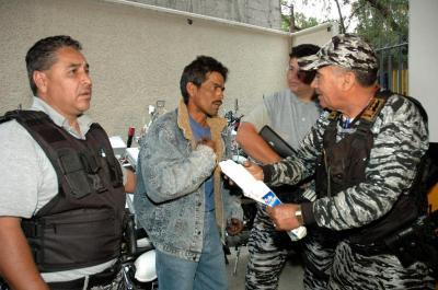 Baja la delincuencia en Ecatepec. De los primeros lugares en número de delitos, descendió a la décima posición