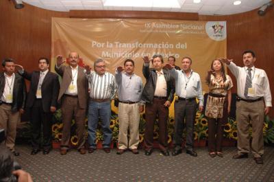 Eligen a Gutiérrez Cureño presidente de la Asociación de Autoridades Locales de México
