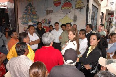 Serán reubicados los vendedores ambulantes del centro de San Cristobal; les construirán mega plaza comercial