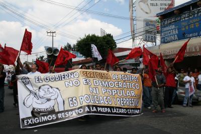 Versión priísta sobre el conflicto de Antorcha campesina con el gobierno municipal por un predio de La Laguna