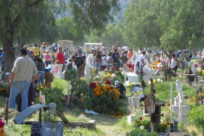 Hasta 150 por ciento subió el precio de las flores este Día de Muertos en los panteones de Ecatepec