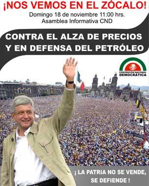 López Obrador rendirá su primer informe de gobierno como presidente legítimo de México