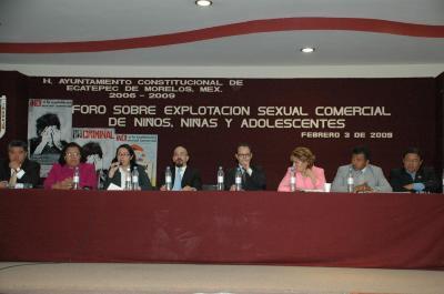 El gobierno municipal inició la campaña ¡No! a la Explotación Sexual y llama a denunciar este crimen al 070