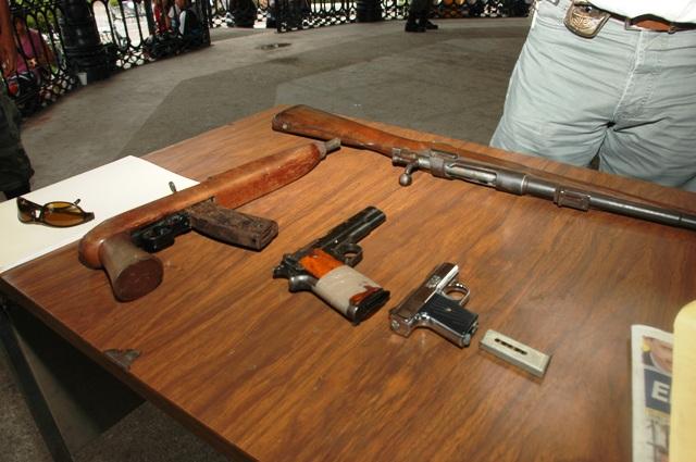 Desarme ciudadano voluntario en Ecatepec