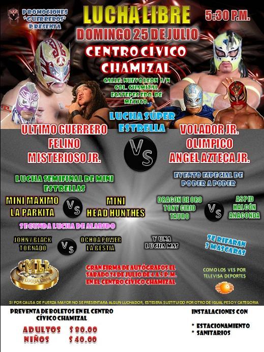 Lucha Libre en Ecatepec